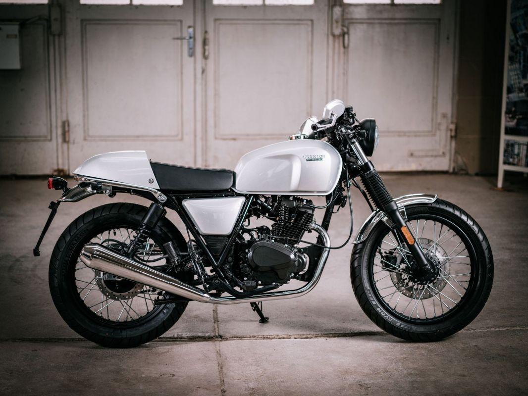 moto neuve brixton bx125r cafe racer atelier sur toulon. Black Bedroom Furniture Sets. Home Design Ideas