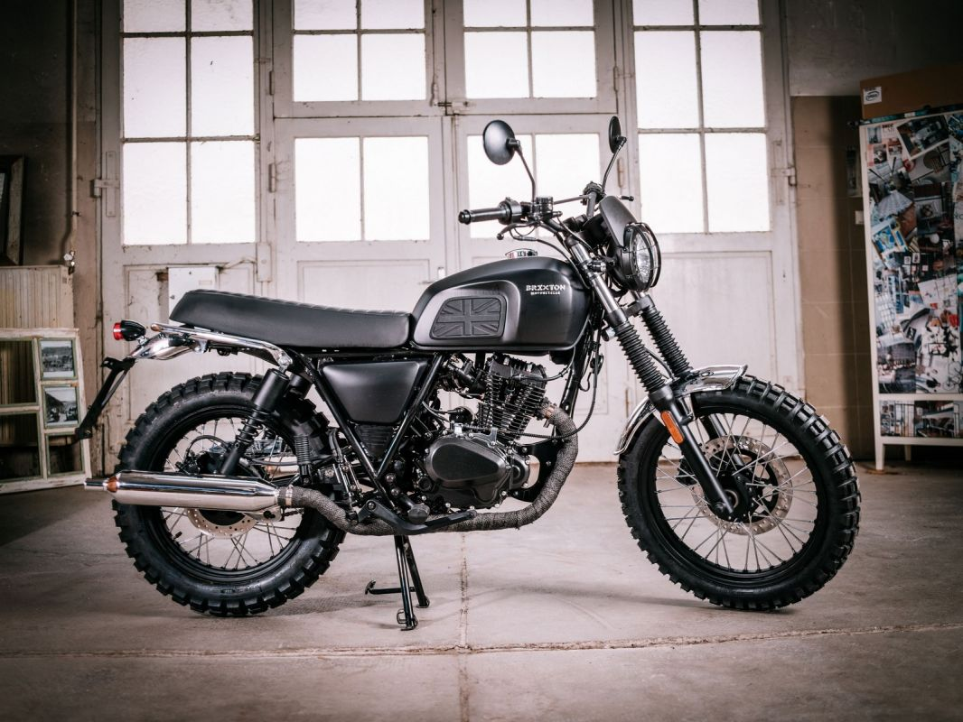 moto neuve brixton bx125x scrambler atelier sur toulon l 39 atelier du 2 roues. Black Bedroom Furniture Sets. Home Design Ideas