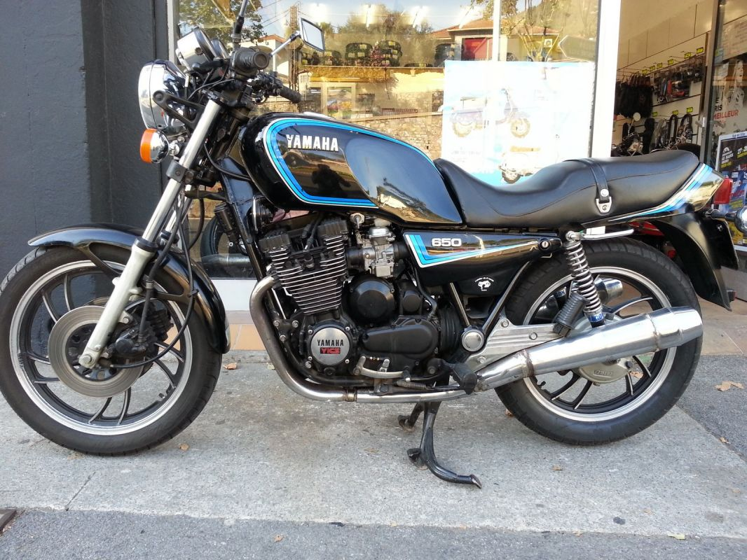 moto occasion yamaha xj 650 de juin 1983 avec 43000 km atelier sur toulon l 39 atelier du 2 roues. Black Bedroom Furniture Sets. Home Design Ideas